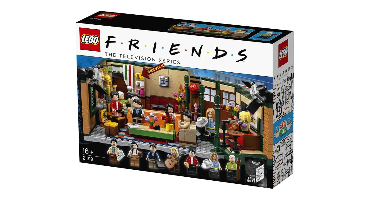 LEGO Releases 'Friends' Central Perk Set